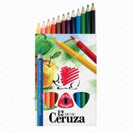 Süni Ico háromszögletű Jumbo színes ceruza 12-es