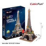 3D Puzzle LED világítással - Eiffel Tower (Franciaország) l091