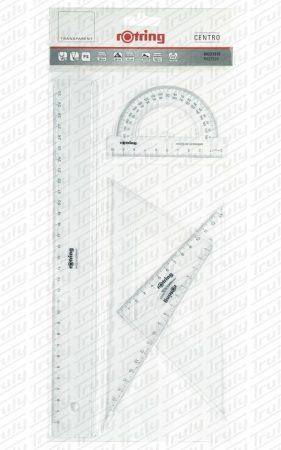 Rotring vonalzó szett 4 darabos S0221370