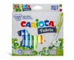 Carioca textilfilc 12 darabos
