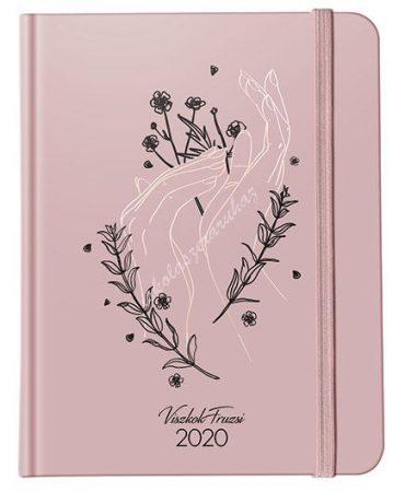 Lizzy Card Viszkok Fruzsi x PlanAll heti tervező 2020