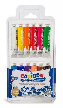 Carioca tempera 12 darabos 12 ml.