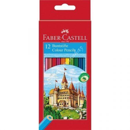 Faber-Castell színes ceruza 12 darabos vármintás