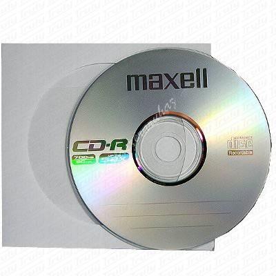 Maxell CD-R80 papír tokban