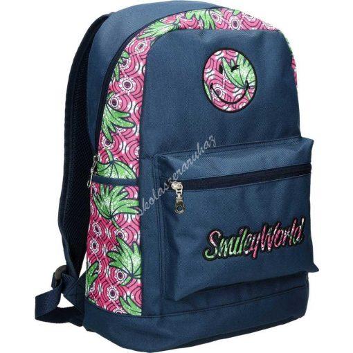 Street Smiley virág hátizsák 53613