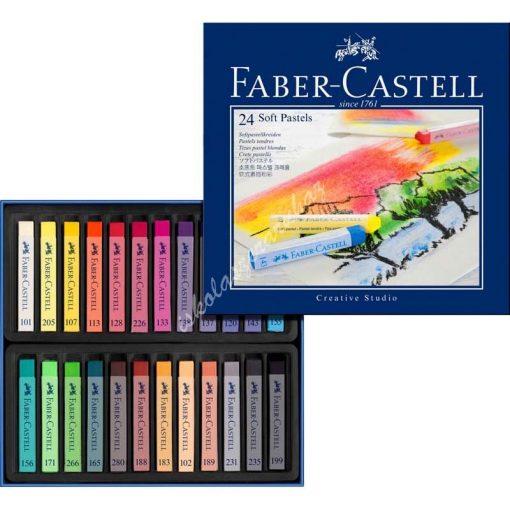 Faber Castell porpasztell 24 darabos 128324