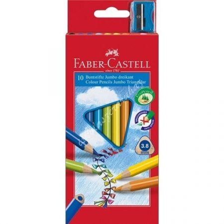 Faber-Castell színes ceruza 10 darabos Junior