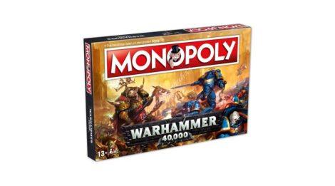 Warhammer 40K - Monopoly (angol nyelvű, limitált kiadás)