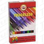 Koh-I-Noor Progresso színes ceruza 24 darabos készlet