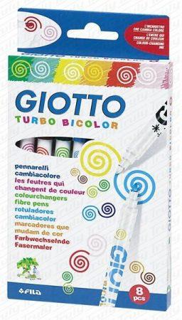 Giotto Turbo Bicolor varázsfilc 8as