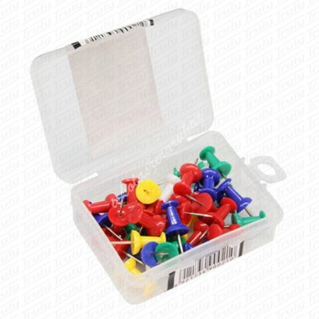 Deli színes push pin, 35 darabos