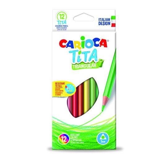 Carioca színes ceruza Tita 12 darabos 42786
