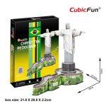 3D Puzzle - Christ The Redeemer (Brazilia) c187