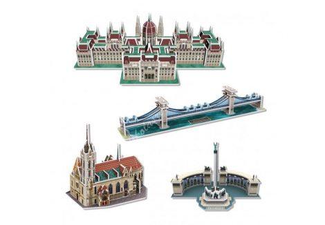 3D Puzzle - Mini Magyar épületek c179