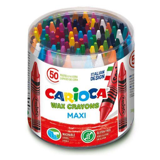 Carioca zsírkréta 50 darabos vastag 42388