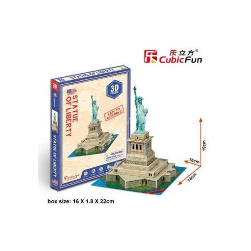 3D Puzzle - mini Szabadság szobor s3026