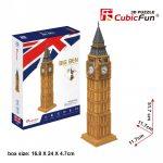 3D Puzzle - Big Ben (UK) c094h