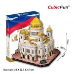 3D Puzzle - Cathedral of Christ The Saviour mc125