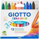 Zsírkréta 12 db-os Giotto Cera - Maxi