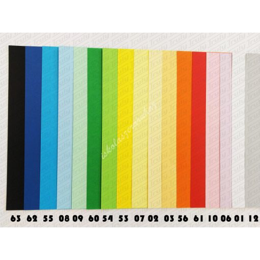 Fabriano kétoldalas dekor karton A/4, 200 gr.