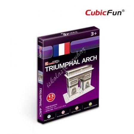 3D Puzzle - mini Diadalív s3014