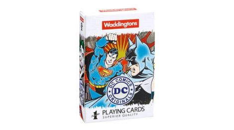 DC Comics francia kártya - Waddingtons