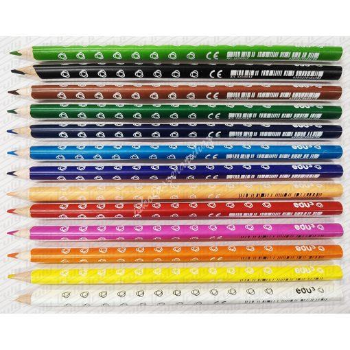 Edu3 szóló színes ceruza piros, kék, zöld színekben