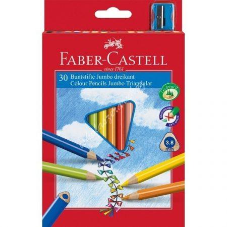 Faber-Castell színes ceruza 30 darabos Junior