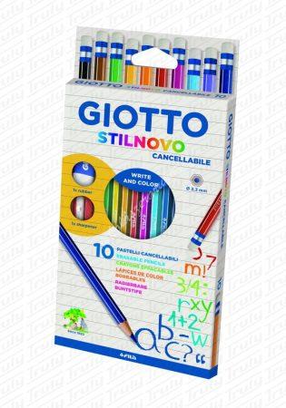 Giotto Stilnovo radíros színes ceruza 10es