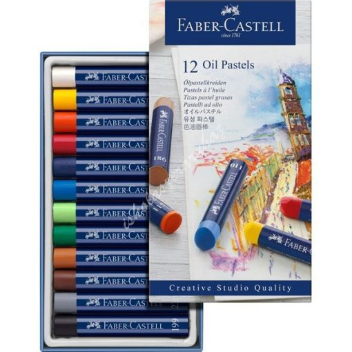 Faber-Castell 12 darabos olajpasztell