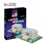 3D Puzzle - Lincoln Memorial (USA) c104