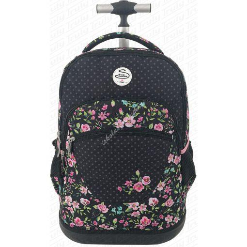 Street Gurulós hátizsák - Flowers 530428