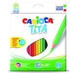 Carioca Tita színes ceruza hatszögletű 24-es 42794