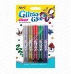 Amos ragasztó glitter szett 5-ös