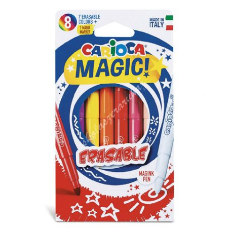 Carioca filc Magic radírozható 8 darabos 41239
