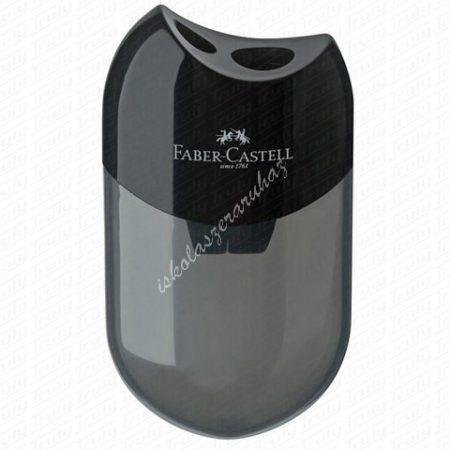 Faber-Castell ovális kétlyukú hegyező