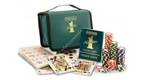 Waddingtons #1 Hordozható póker-szett