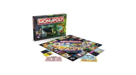 Rick and Morty - Monopoly (angol nyelvű kiadás)