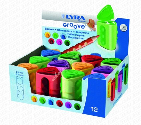 Lyra Groove kétlyukú hegyező