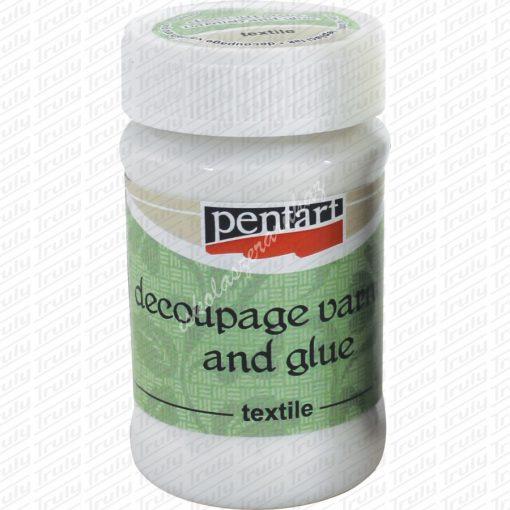 Pentart textil decoupage ragasztó 100 ml.
