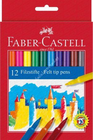 Faber-Castell 12es filctoll készlet