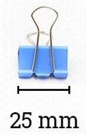 Deli binder kapocs 25 mm