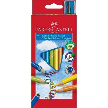 Faber-Castell színes ceruza 20 darabos Junior