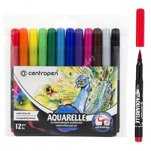 Centropen filc Aquarelle 12 darabos 8683/12