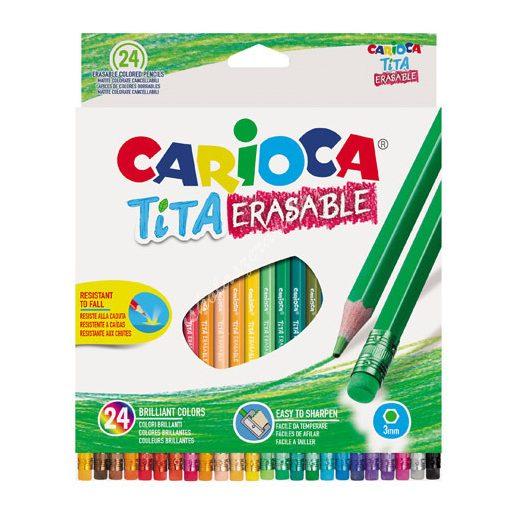 Carioca színes ceruza radíros 24 darabos 42938