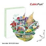 3D Puzzle persely - New York városkép oc3203