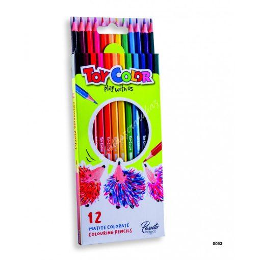 ToyColor színes ceruza 12 darabos 0053