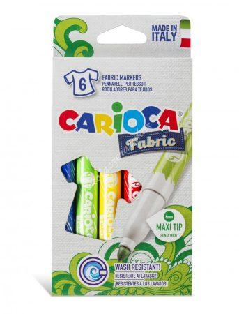 Carioca textilfilc 6 darabos