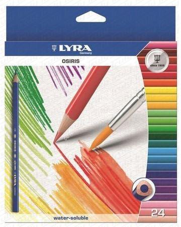 Lyra Osiris akvarell színes ceruza 24-es + ecset