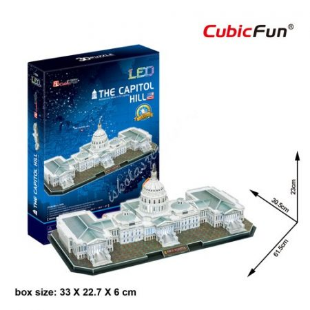 3D Puzzle LED világítással - The Capitol Hill l193